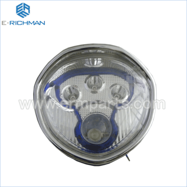 Headlight ( L.E.D ) electric rickshaw spare partsin india 2016 new (1)