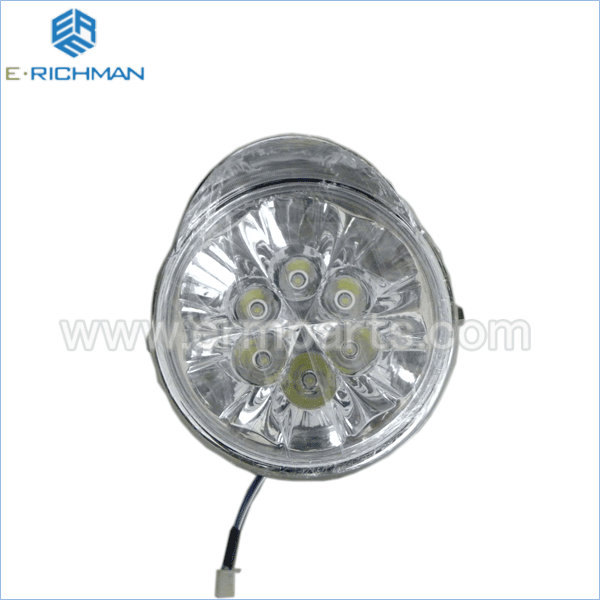 Headlight ( L.E.D ) electric rickshaw spare partsin india 2016 new (3)
