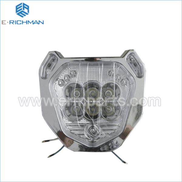 Headlight ( L.E.D ) electric rickshaw spare partsin india 2016 new (9)