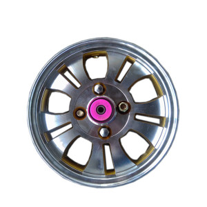 aluminum wheel rim 3.50-12 2.75-14 good quality e rickshaw spare parts