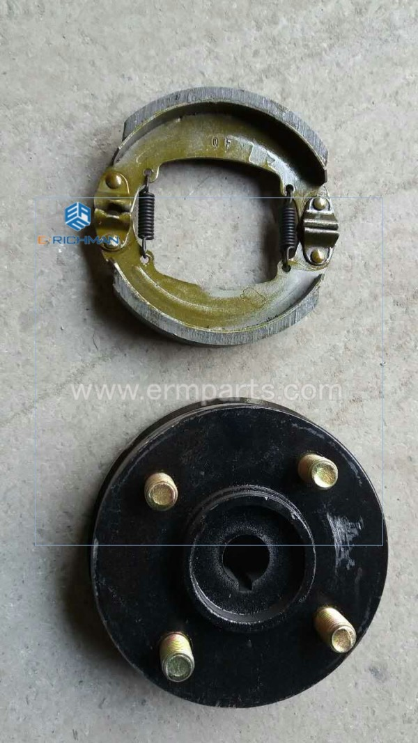 brake shoes brake drum 130 460 size 3