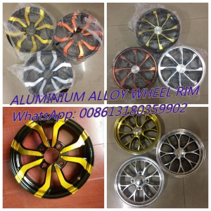 Aluminium alloy rim 2.50-12 and 2.75-12 for electric rickshaw electric tricycle auto motorcycle