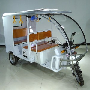 QSD closed model (3 (1) electric rickshaw e rickshaw spare parts electric e trike etrike