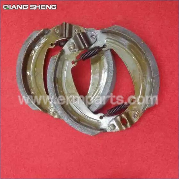QIANGSHENG New Rear Drum Brake Shoes Pad 130mm for QSD electric rickshaw India rickshaw (3)